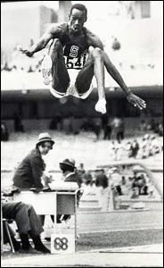 Six seconds. That's all it took for Bob Beamon to leap into history. That's all it took for the slender 22-year-old long jumper to speed 19 strides down the runway, ascend to a height of six feet, stay up in the air like a bird and finally land an incomprehensible 29 feet, 2½ inches later. Of all Olympic records, none is as impressive as the one Beamon stunningly set Oct. 18, 1968 in Mexico City.