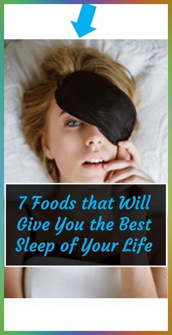7 FOODS THAT PUT YOU TO SLEEP INSTANTLY