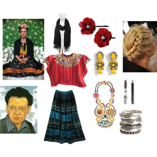 """Frida Costume"" by michelle-dewey on Polyvore"