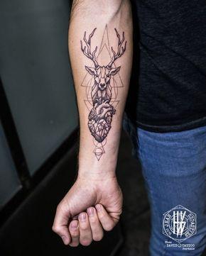 Magazine , 15 inspirations de tatouage de cerf, place à la majesté ,  Allotattoo