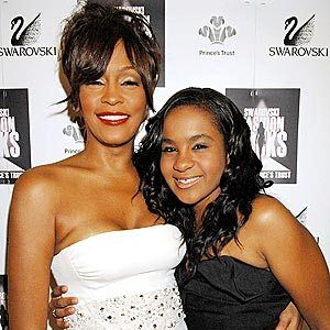 whitney Houston and bobbie christina |