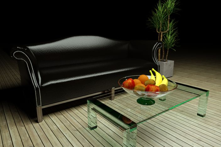 Leather Lounge seat - - 3D CAD model - GrabCAD