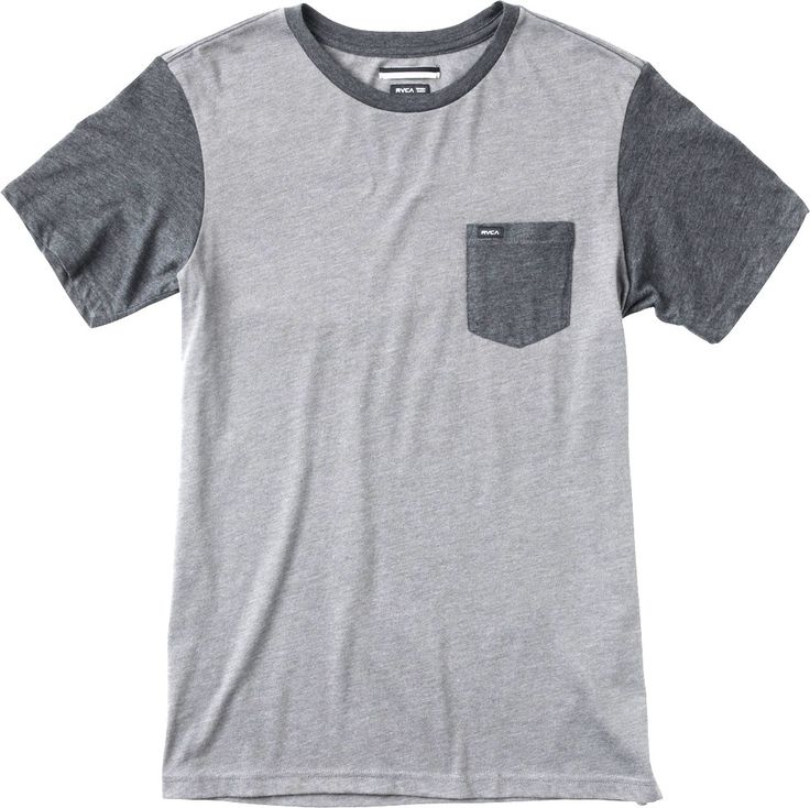 RVCA Change Up knit shirt grey noise