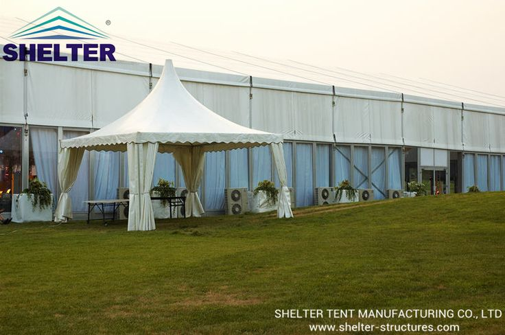 Pagoda Tent | Gazebo Tent | Reception Tent | PVC Fabric http://www.shelter-structures.com/