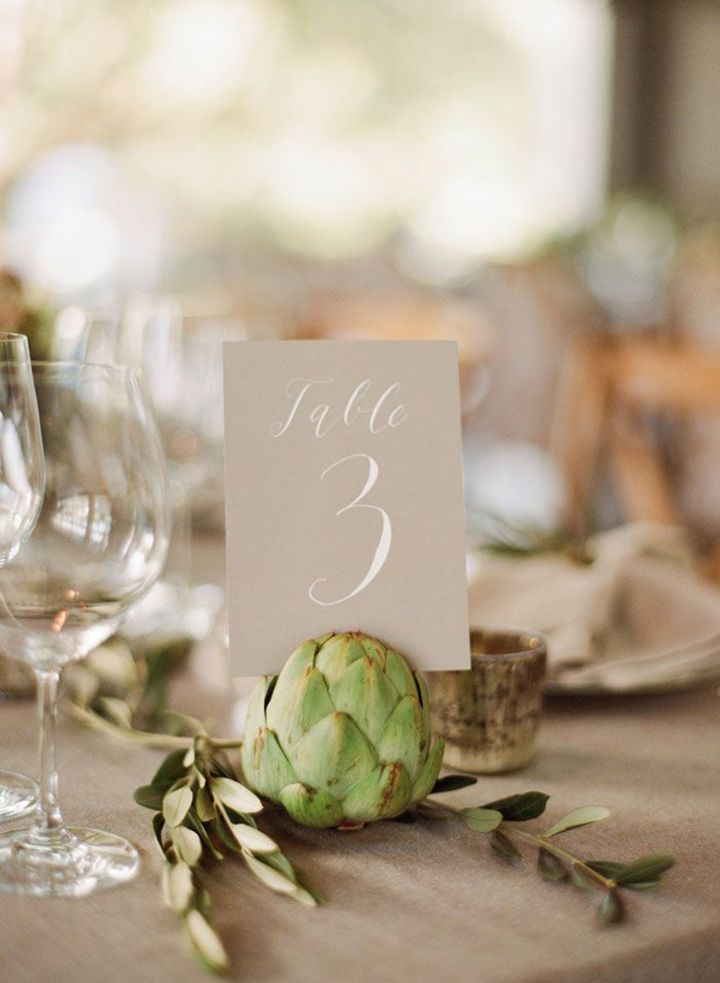 Awesome Wedding Table Number Ideas Youu0027ll Want