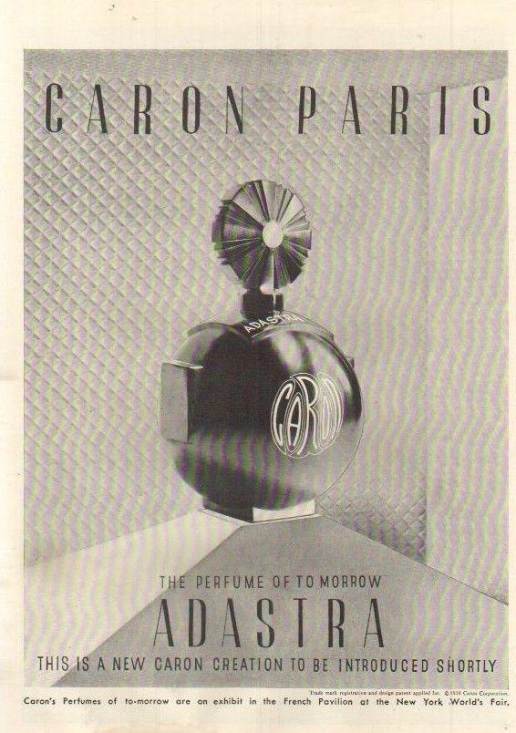 caron new york perfume vintage