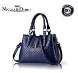 #7: Nicole&Doris 女性のための2016の新しいハンドバッグミニマリストのファッションハンドバッグショルダーバッグメッセンジャーバッグ大きな袋の財布