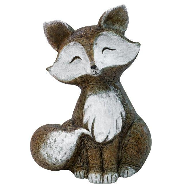 Süß oder?  - Unser Deko-Fuchs ist mit Sicherheit in jeder #herbstdeko ein echter Hingucker.