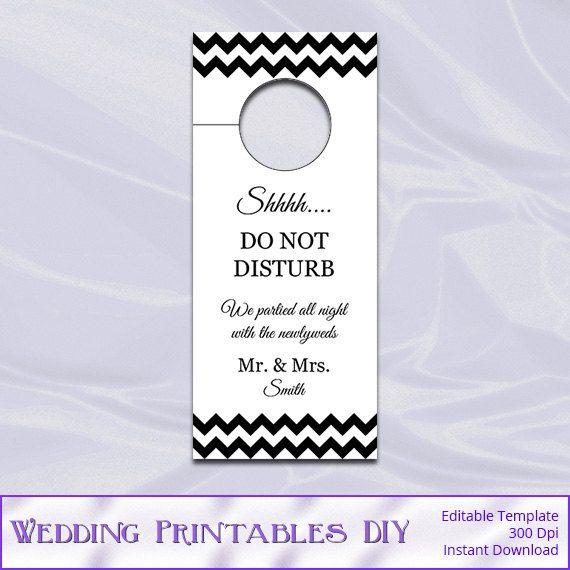10 Best tlet a k vetkez r l Door Hanger Template a Pinteresten – Wedding Door Hanger Template
