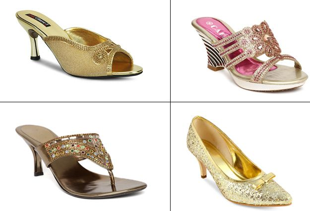 8 Types of Shoes Every Girl Must Have In Her Wardrobe During Wedding Season - BollywoodShaadis.com