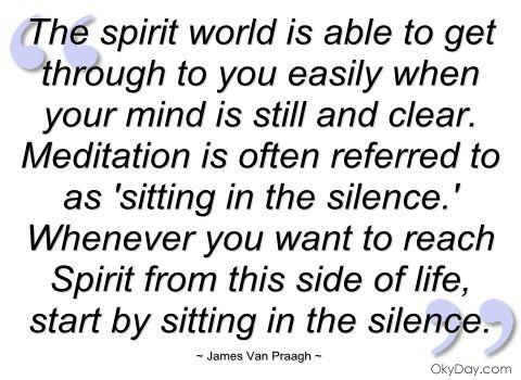 The Spirit World ... see more of James Van Praagh at http://vanpraagh.com