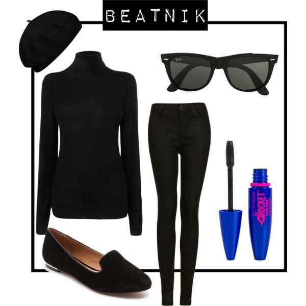 Beatnik fashion dress