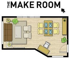 Room Layout Planner - To make sure to take the time to layout the furniture and function of a room properly.