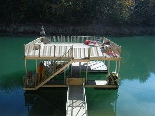 Norris Lake Cabin with Double Decker Dock on Private Cove
