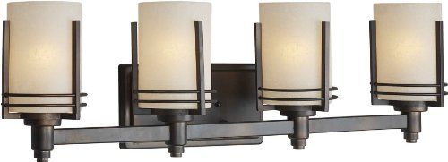 Talista 4 Light Antique Bronze Bath Vanity Light With: 56 Best Dream Lighting Vanities Images On Pinterest