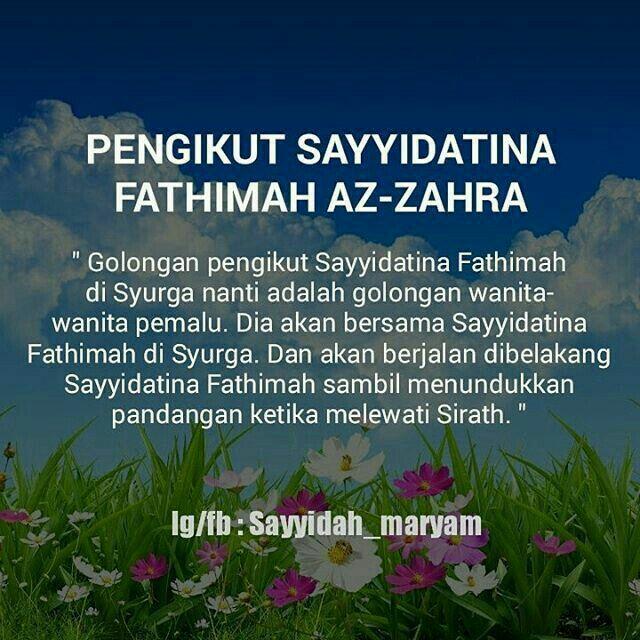 Kata Mutiara Fatimah Az Zahra Cikimm Com