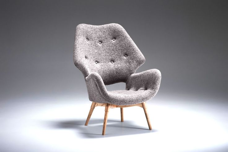 Grazia and Co Australian made authentic furniture, including original Featherson pieces - B230/B230H  Contour Armchair