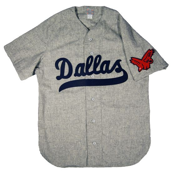 Ebbets Flannel Dallas Eagles 1950 Road Jersey