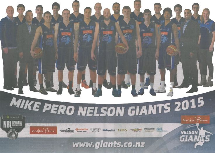 Our Mike Pero Nelson Giants 2015 ...Go Giants Go!