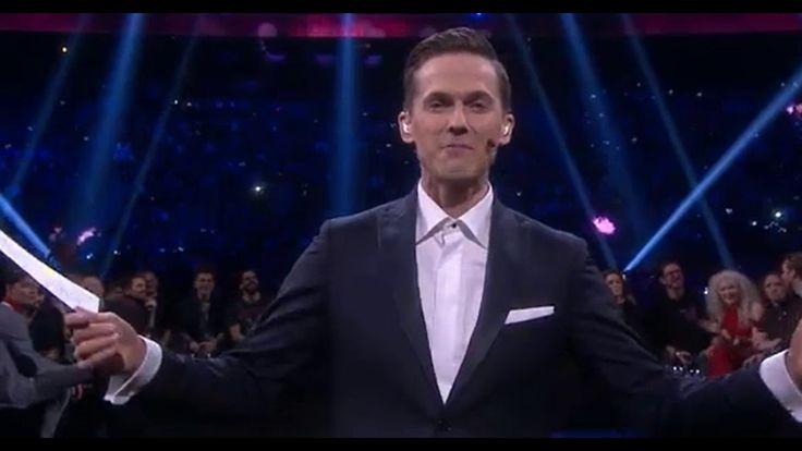 Melodifestivalen 2017-David's Performance.  David so funny guy. =)