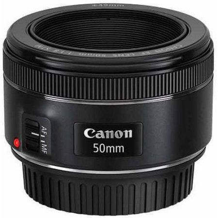 $109.00 | Canon EF 50mm f/1.8 Fixed Focal Length Lens