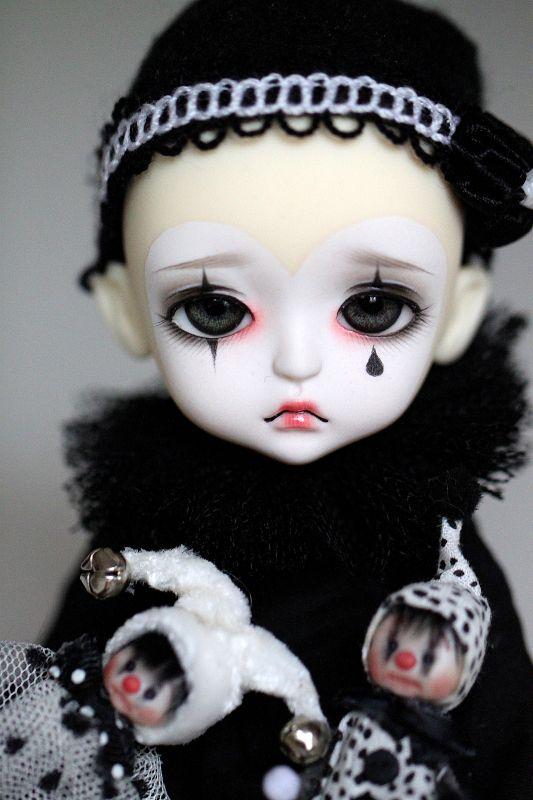 Modern Clown :: Pierrot Doll - TearBell by Aya_27