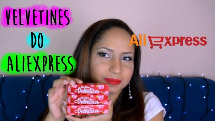 Meus velvetines Lime Crime do Aliexpress - Resenha