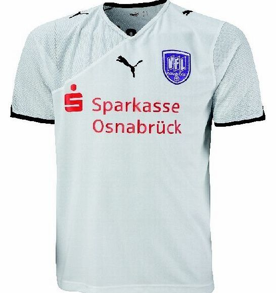 Bundesliga Puma 2010-11 VFL Osnabruck Puma Away Football Shirt Official 2010-11 VFL Osnabruck Short Sleeve Away shirt manufactured by Puma. This football kit is available to buy online in adult sizes S M L XL XXL. We stock only official VFL Osnabruck soccer jerse http://www.comparestoreprices.co.uk/football-shirts/bundesliga-puma-2010-11-vfl-osnabruck-puma-away-football-shirt.asp