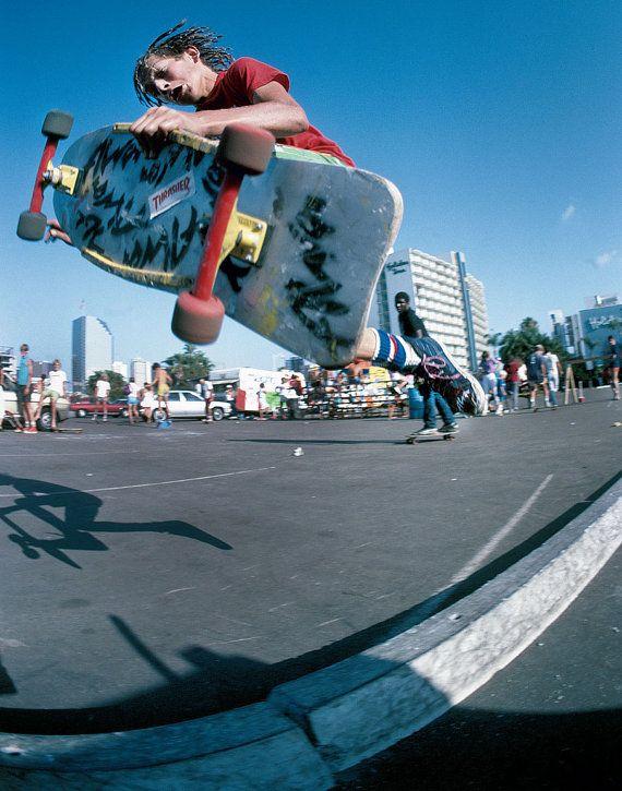 "80s Skate Photo - Mark Gonzales Eighties Skateboarding Photograph 16x20"" Print - J Grant Brittain Skateboarding Photo"