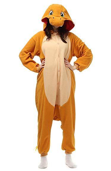 Unisex Adult Cosplay Fleece Kigurumi Sleepwear Onesie Animal Pajamas Set  Review 69cba5a70