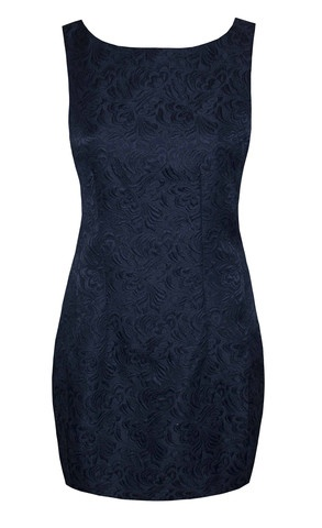 Alicia Navy Baroque Dress $59.95  www.littlepartydress.com.au