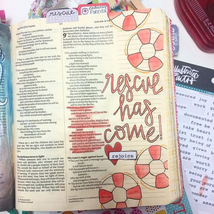 Bible Journaling by @joyfuldesigns