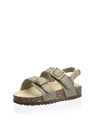 57% OFF OshKosh B'Gosh Duke Double Strap Sandal (Toddler/Little Kid) (Grey)