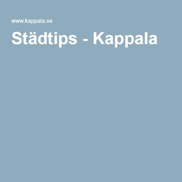 Städtips - Kappala