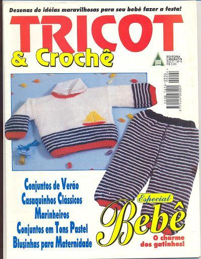 Tricot e Crochet Bebê 4 - Nany Ojeda - Álbuns da web do Picasa
