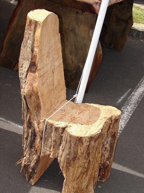 tree stump chairs   tree stump chair