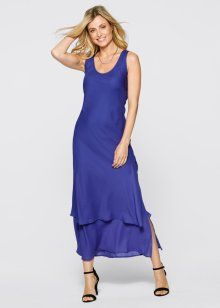 Платье, bpc selection, сапфирно-синий