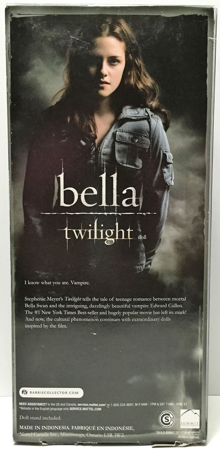 (TAS034893) - 2012 Mattel Barbie Pink Label Collection The Twilight Saga - Bella