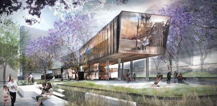 Green square library competition entry aspect studios for Aspect landscape architects