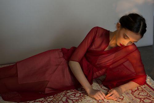 Pepper Kimono. Ethically made, printed & designed in Australia.
