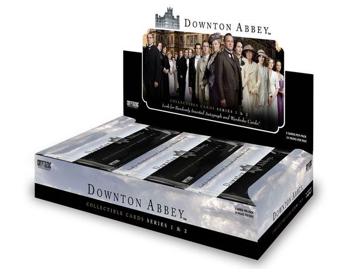 Downton Abbey Collectible Cards Series 1 & 2 | Cryptozoic Entertainment
