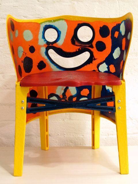 Gaetano Pesce (De stoel die altijd lacht.)