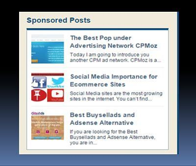 How to Get Sponsored Post for Your Blog  #sponsor #advertiser #sponsoredpost #bloggingtips