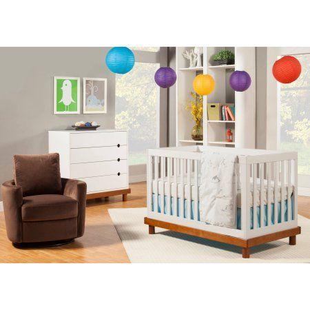 Baby Mod - Olivia 3-in-1 Baby Crib, Choose Your Finish - Walmart.com