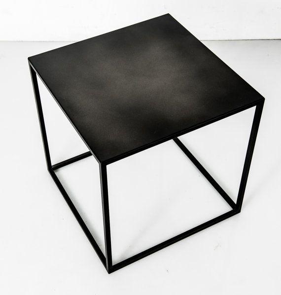 Coffee Table Minimalist Retro: Side Tables Industrial Table Minimalist Furniture Loft