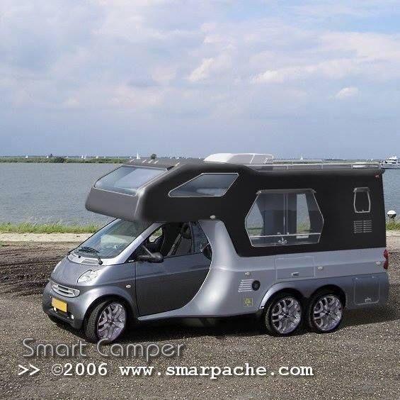 smart camper motorhome home pinterest rv camping and cars. Black Bedroom Furniture Sets. Home Design Ideas