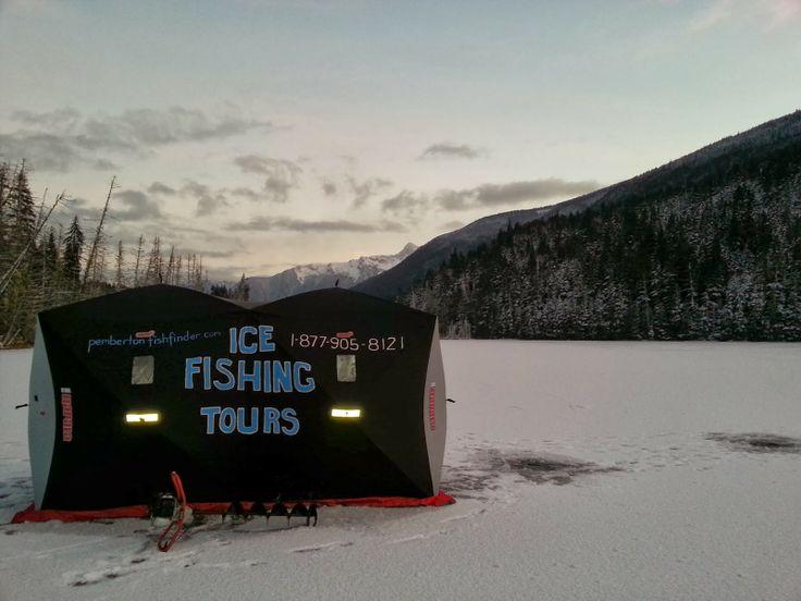 Winter Fishing Around Pemberton