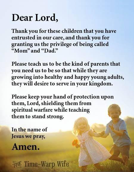 Parental Blessing