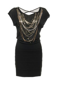 Amy Gee Dress Black. Beautiful black dress for the incoming holidays. Buy it now with 50% off!