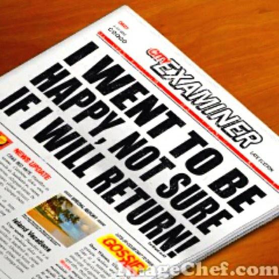 News! News! News! news